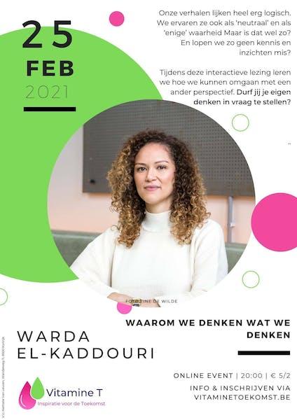 Vitamine T: Warda El-Kaddouri