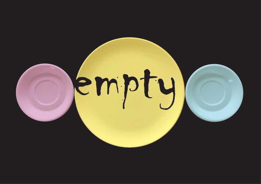 'Empty', Third Paradise-symbool verbeeld door kunstenaar Jan D'Haene