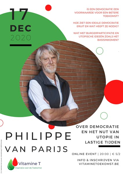 Philippe Van Parijs december 2020