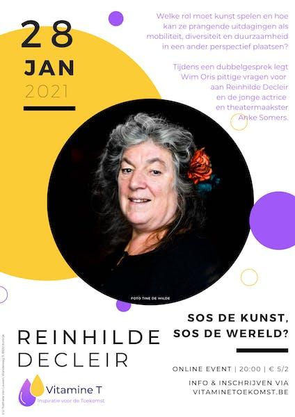 Reinhilde Decleir januari 2021